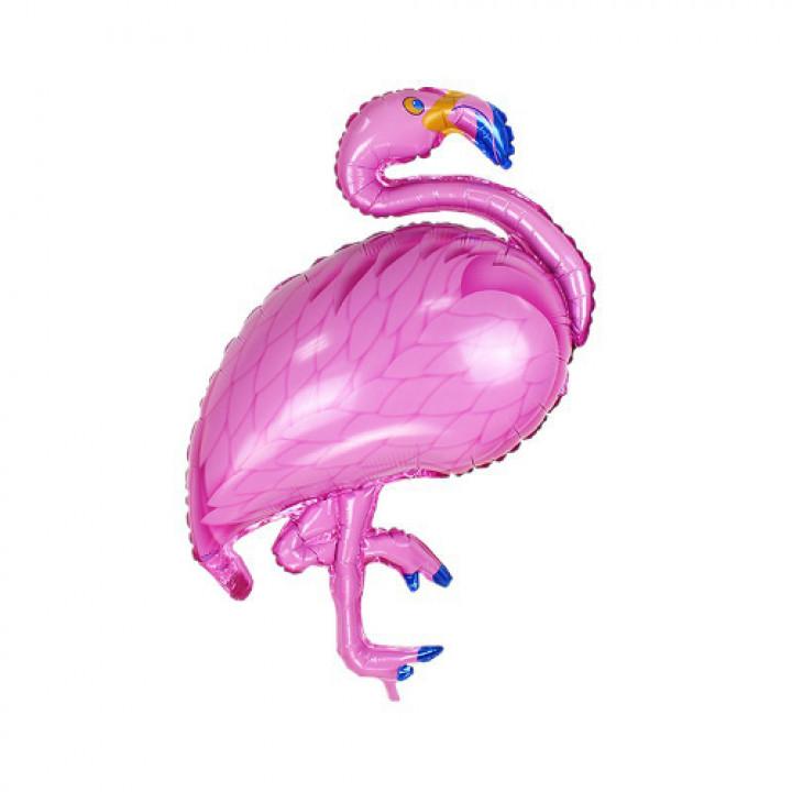 Шар (46''/117 см)Фольга Фламинго, Розовый