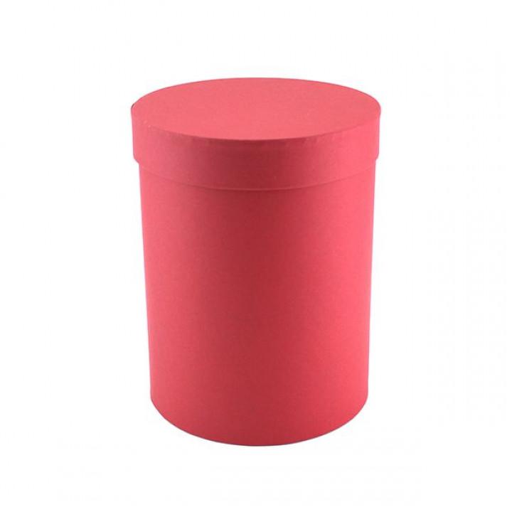 Коробка Бордовый цилиндр