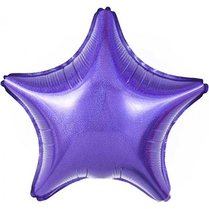 Звезда Фиолетовая голография