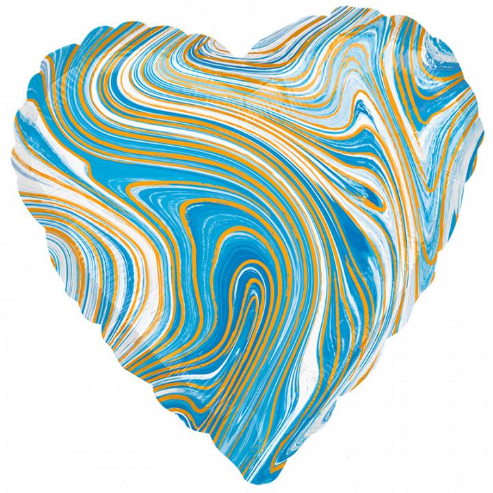 Сердце Голубой мрамор / А