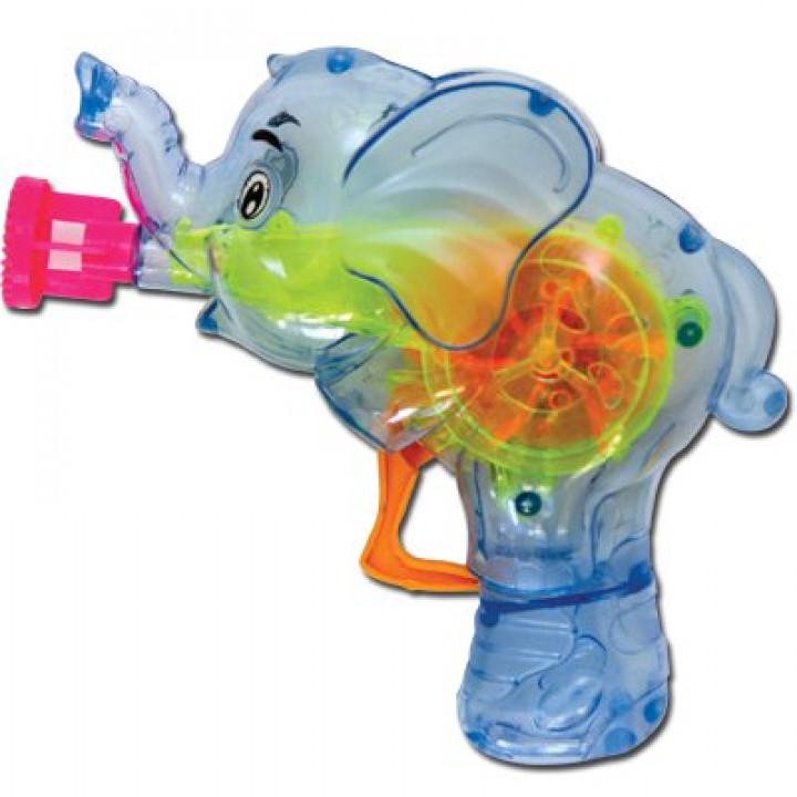 Игрушка с мыл пузырями Слоник светящ