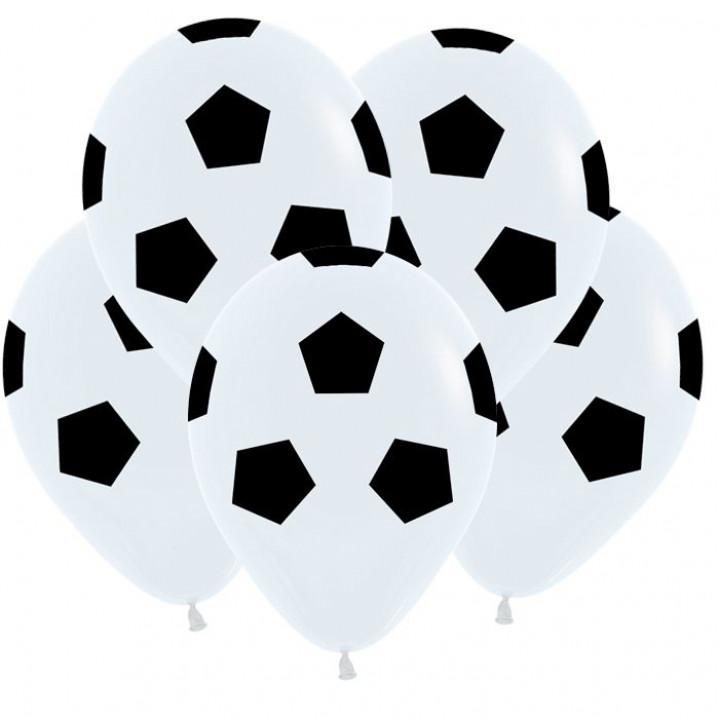 Футбольный мяч,Белый Пастель