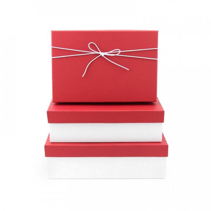 Коробка Элегантность Красный прямоугольник