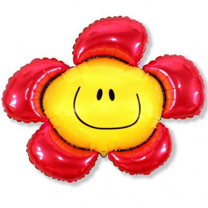 Солнечная улыбка Красный