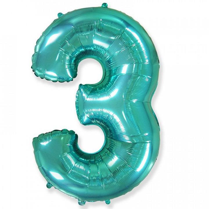 FM Фигура Цифра 3 Tiffany 36