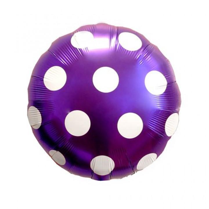 Круг точки фиолетовый