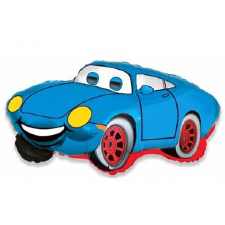 Машина Тачка голубая