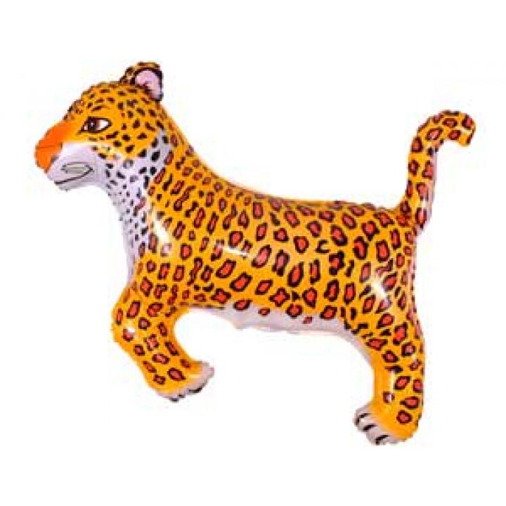 Леопард черные пятна