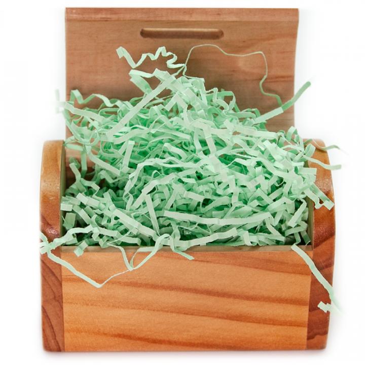 Наполнитель бумажный Светло-зеленый, 50 гр.