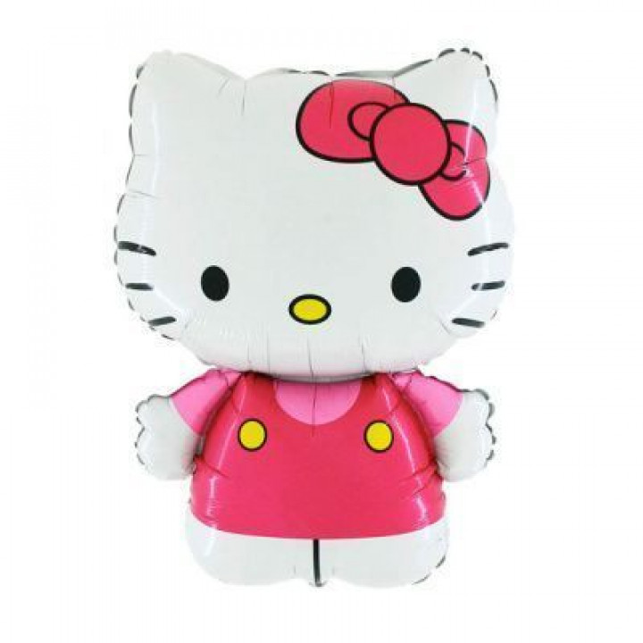 FM гр.4 И-338 Hello Kitty розовая 67смX49см фольга
